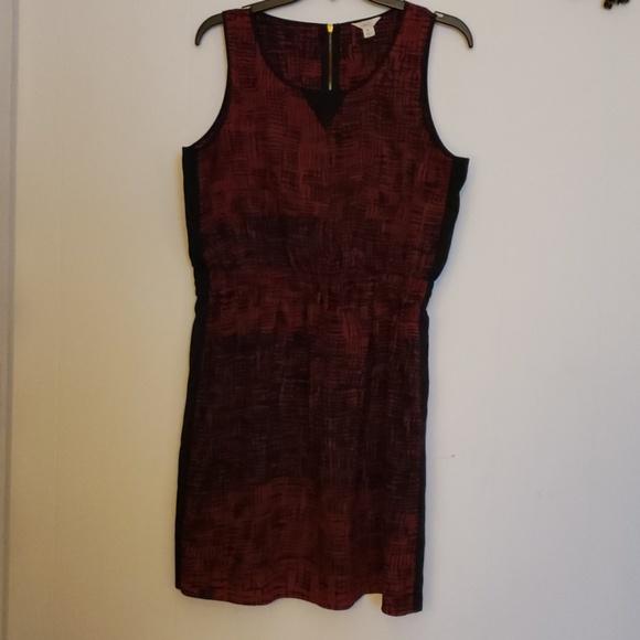 Lucky Brand Dresses & Skirts - Lucky Brand Red/Black Dress XL